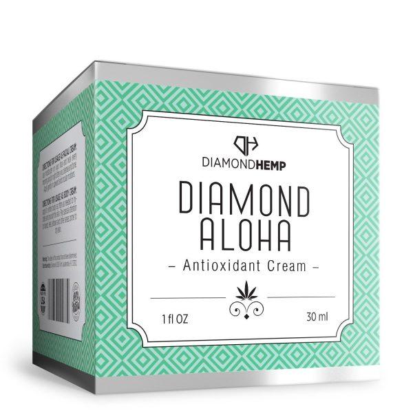 Hemp Antioxidant Cream (Diamond Aloha)