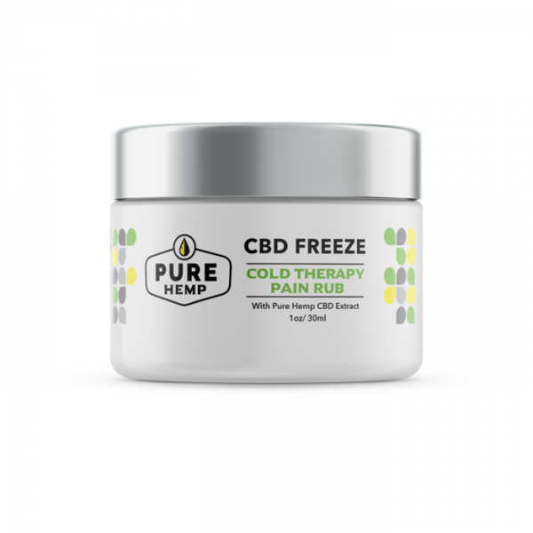 CBD Freeze Cold Therapy Pain Rub - 50mg