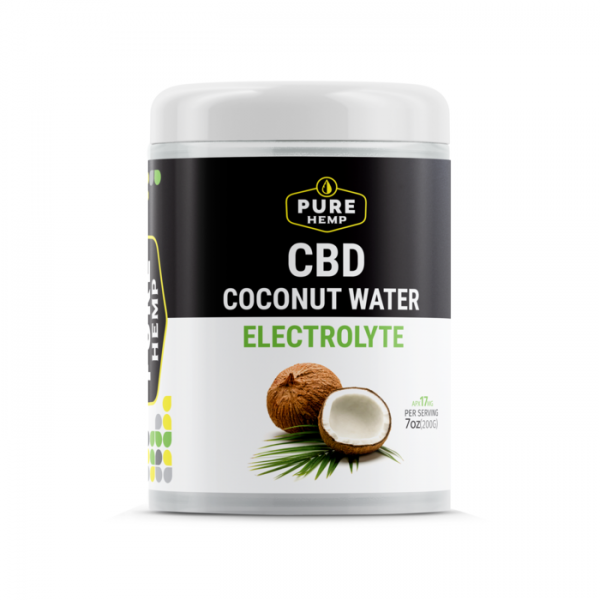 CBD Coconut Water Soluble electrolytes  - 250mg
