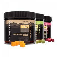 CHARLOTTE'S WEB Premium CBD Hemp Extract Gummies Bundle -10mg