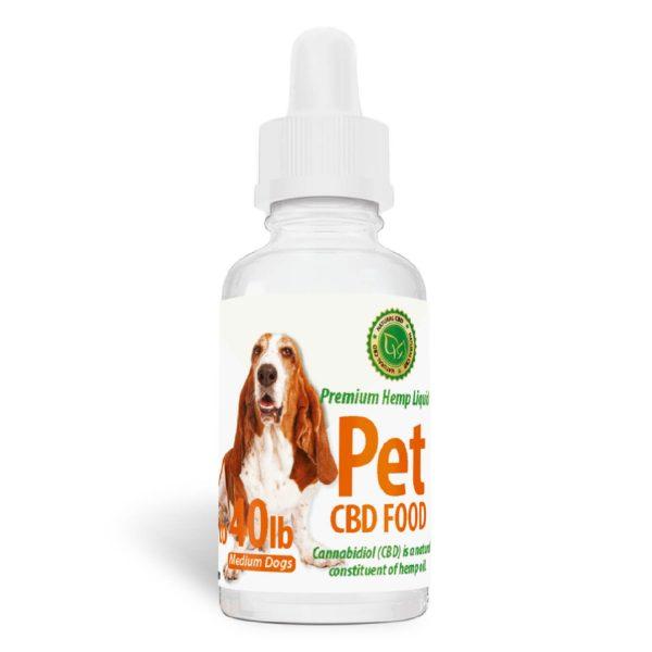 Pet CBD Food for Medium Dogs - [50mg] Bacon Flavor