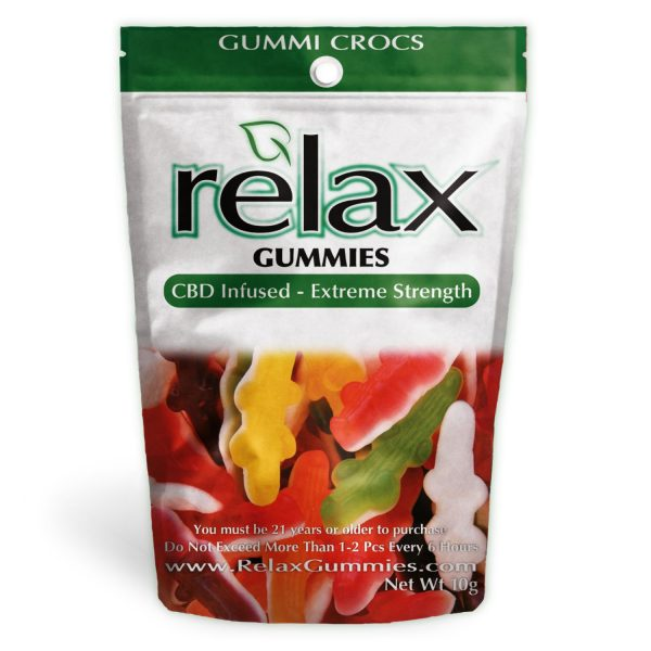 Relax Gummies - CBD Infused Gummy Crocs [Edible Candy] 200mg