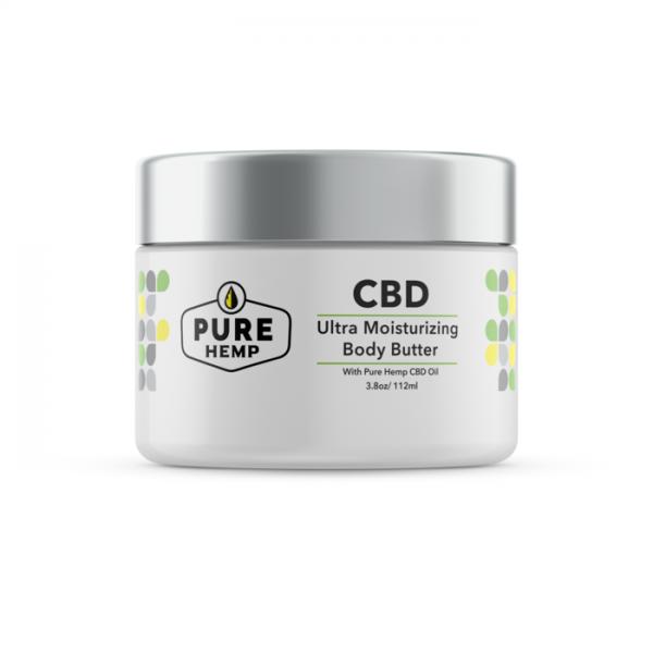 CBD Ultra Body Moisturizing Butter - 20mg