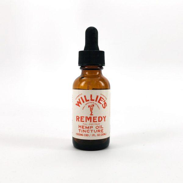 Willie's Remedy Full Spectrum Hemp Oil Tincture 1500MG CBD, 1 Fl. Oz. (50mg)