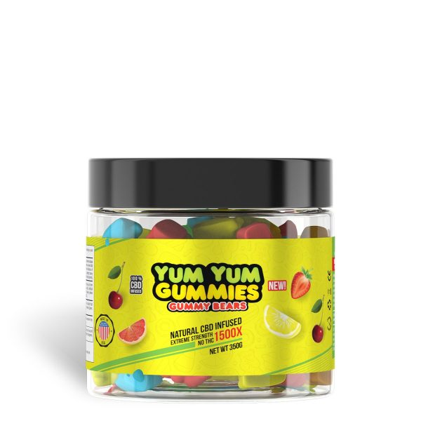 Yum Yum Gummies 1500x - CBD Infused Gummies [Edible Candy]