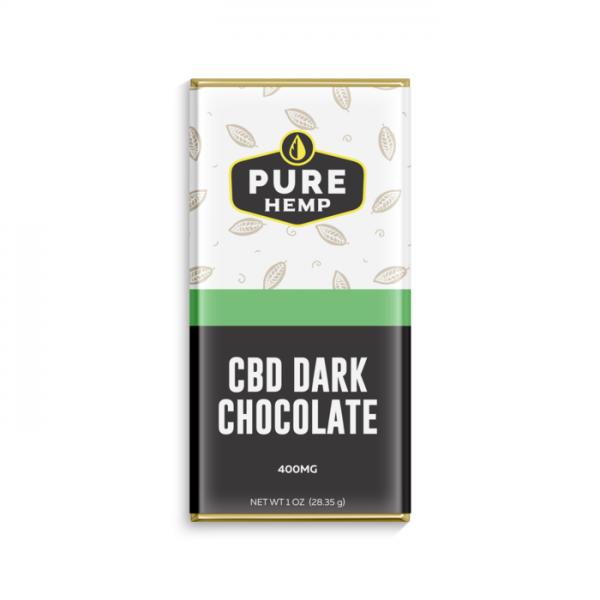 CBD Dark Chocolate Bar - 400mg