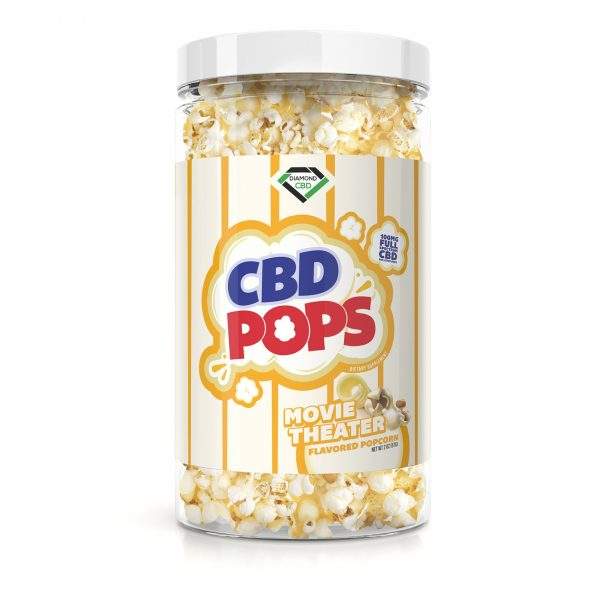 Diamond CBD Popcorn - Movie Theatre - 100mg
