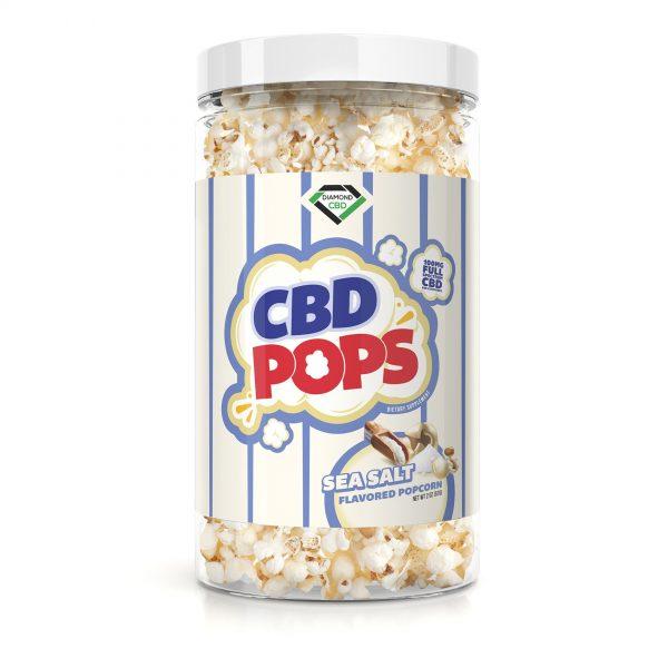 Diamond CBD Popcorn - Sea Salt - 100mg