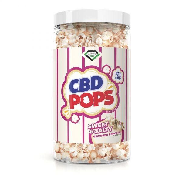 Diamond CBD Popcorn - Sweet & Salty - 100mg