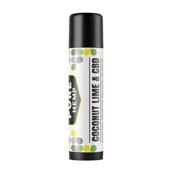 CBD Infused Lip Balm - Coconut Lime