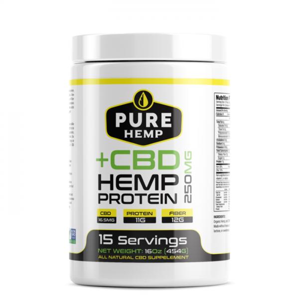 CBD Protein Powder - Vegan 250mg
