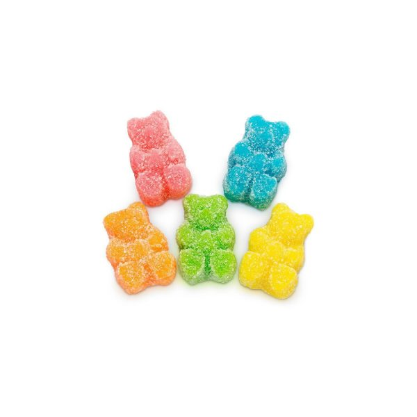 Relax Gummies - CBD Infused Sour Bears [Edible Candy] 200mg - My CBD Mall