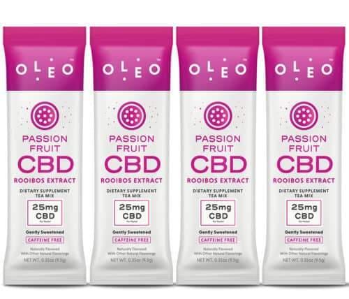Single Serving CBD Packet – 4 Pack – OLEO - My CBD Mall