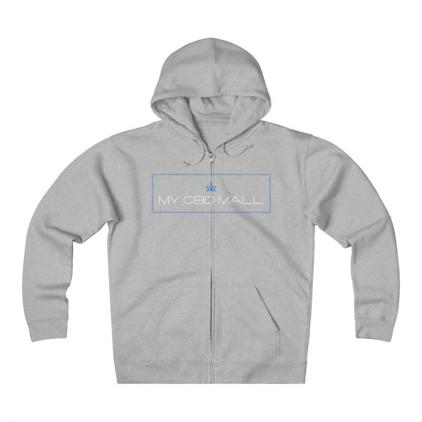 My CBD Mall Unisex Heavyweight Fleece Zip Hoodie - My CBD Mall
