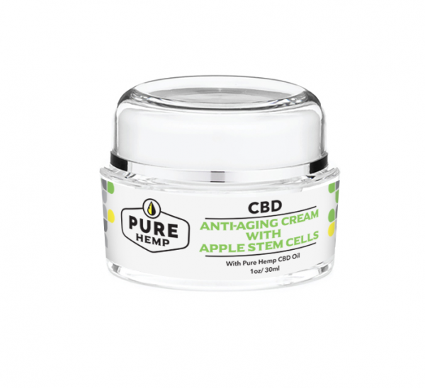 Anti-Aging Cream with Apple Stem Cells - My CBD Mall