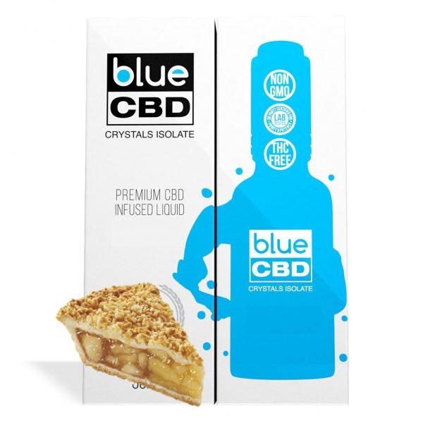 Apple Pie Flavor Blue CBD Crystal Isolate - My CBD Mall