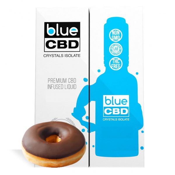Frosted Donut Flavor Blue CBD Crystal Isolate - My CBD Mall