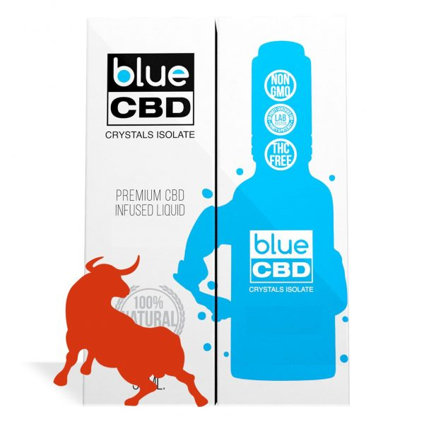 Energy Drink Flavor Blue CBD Crystal Isolate - My CBD Mall