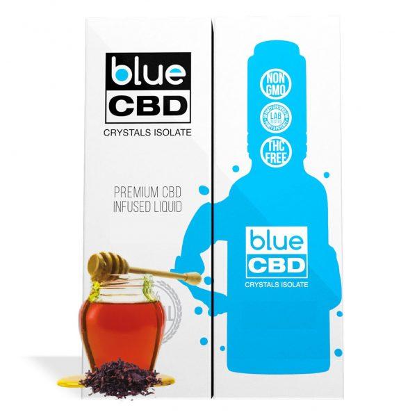 Black Honey Tobacco Flavor Blue CBD Crystal Isolate - My CBD Mall