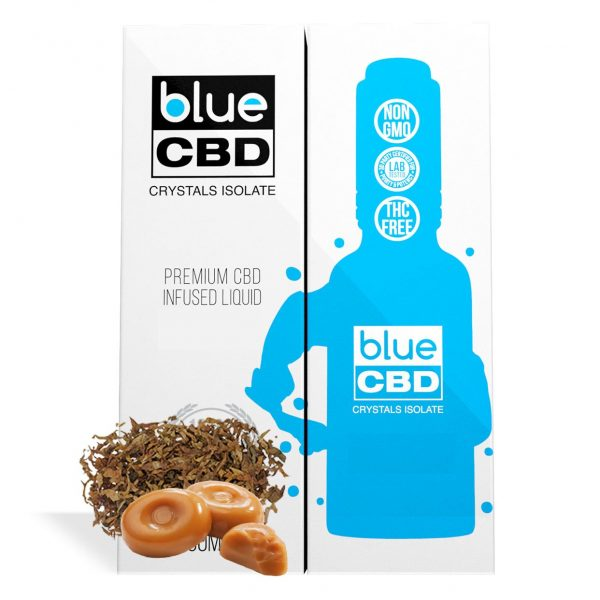 Tobacco Caramel Flavor Blue CBD Crystal Isolate - My CBD Mall
