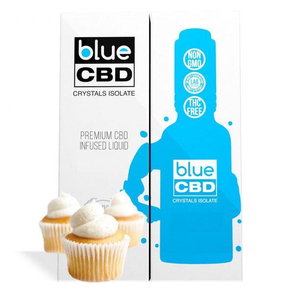 Vanilla Cupcake Flavor Blue CBD Crystal Isolate - My CBD Mall