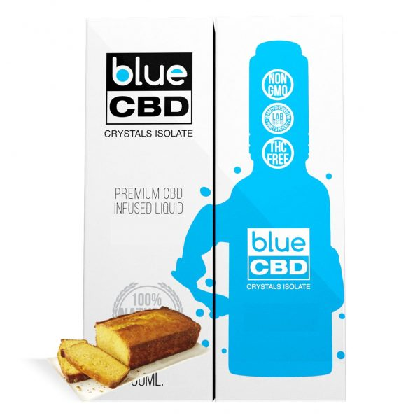 Yellow Cake Flavor Blue CBD Crystal Isolate - My CBD Mall