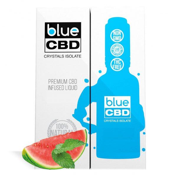 Watermelon Mint Flavor Blue CBD Crystal Isolate - My CBD Mall