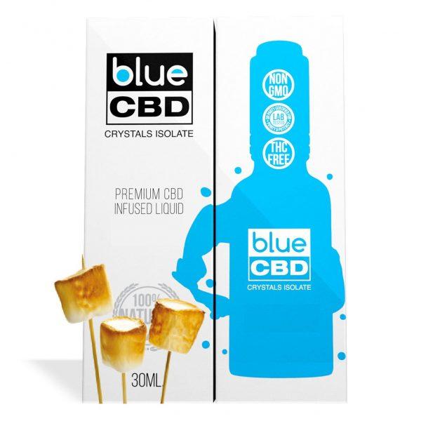 Toasted Marshmellow Flavor Blue CBD Crystal Isolate - My CBD Mall