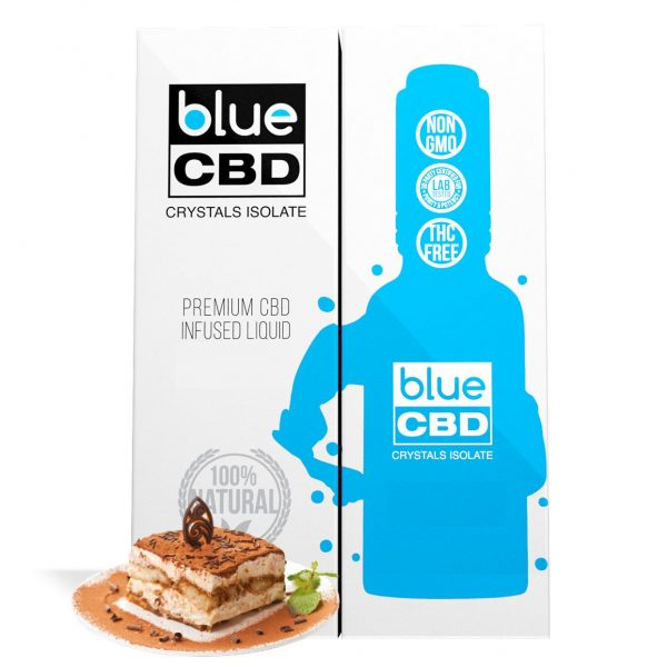 Tiramisu Flavor Blue CBD Crystal Isolate - My CBD Mall
