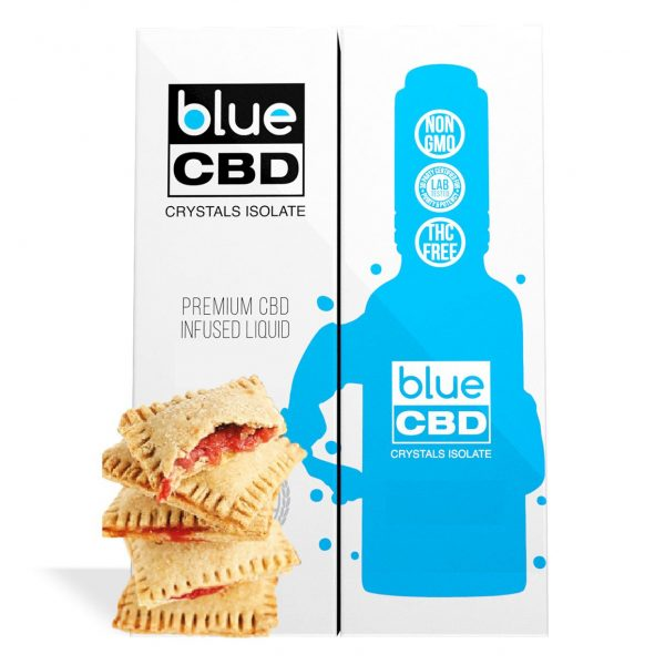 Strawberry Toaster Pastries Flavor Blue CBD Crystal Isolate - My CBD Mall