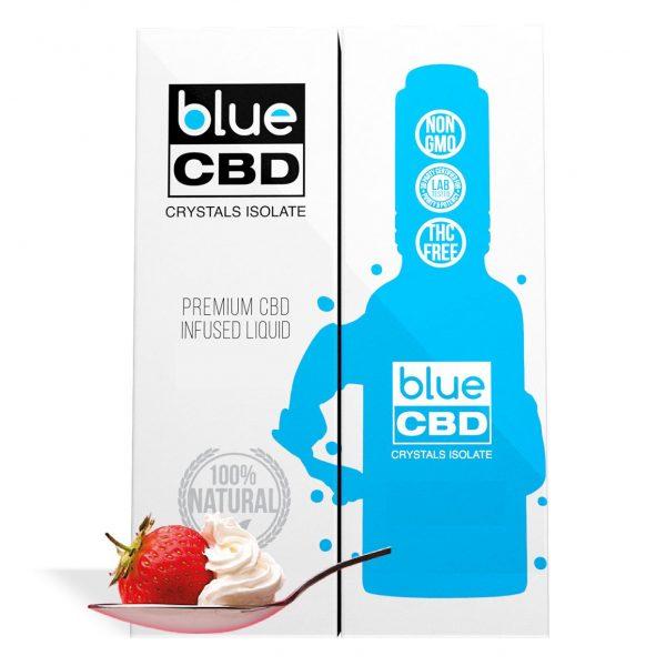 Strawberry and Creme Flavor Blue CBD Crystal Isolate - My CBD Mall