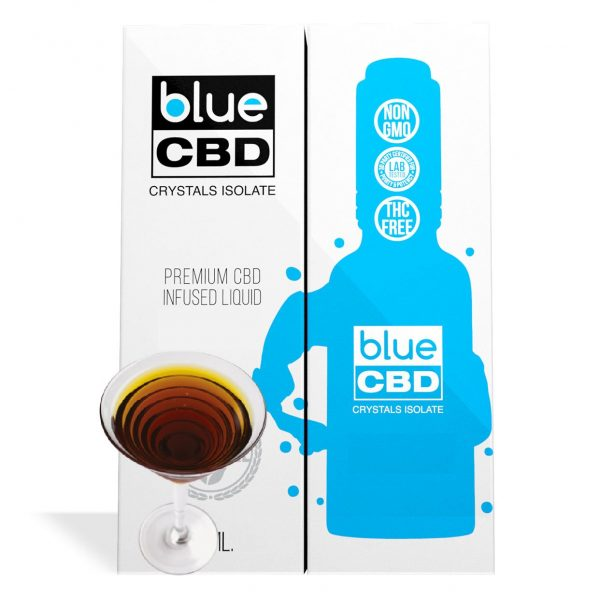 Spanish Brandy Flavor Blue CBD Crystal Isolate - My CBD Mall
