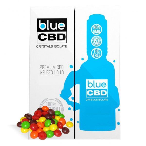 Rainbow Candy Flavor Blue CBD Crystal Isolate - My CBD Mall