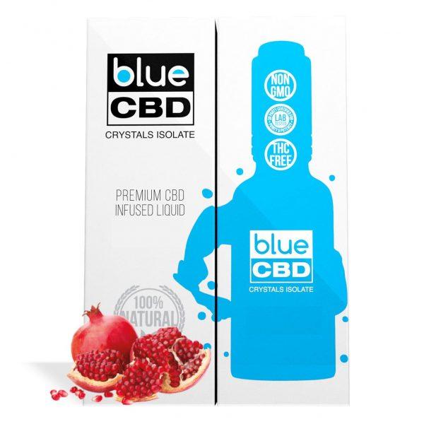 Pomegranate Flavor Blue CBD Crystal Isolate - My CBD Mall