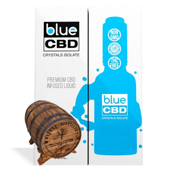 Kentucky Bourbon Flavor Blue CBD Crystal Isolate - My CBD Mall