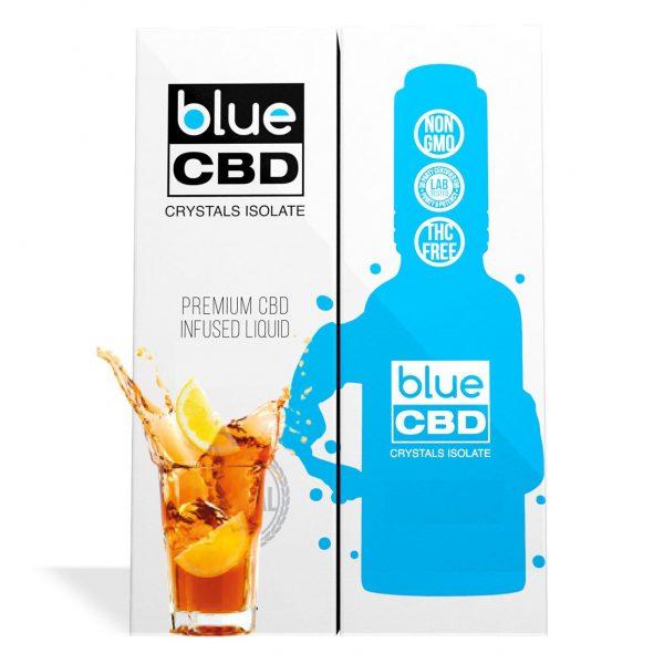 Iced Tea Flavor Blue CBD Crystal Isolate - My CBD Mall