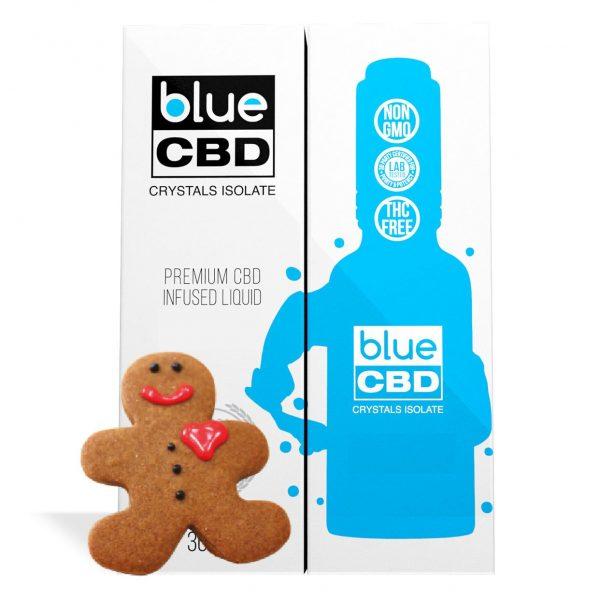 Gingerbread Flavor Blue CBD Crystal Isolate - My CBD Mall