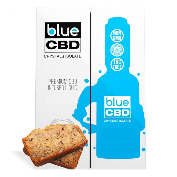 Banana Nut Bread Flavor Blue CBD Crystal Isolate - My CBD Mall