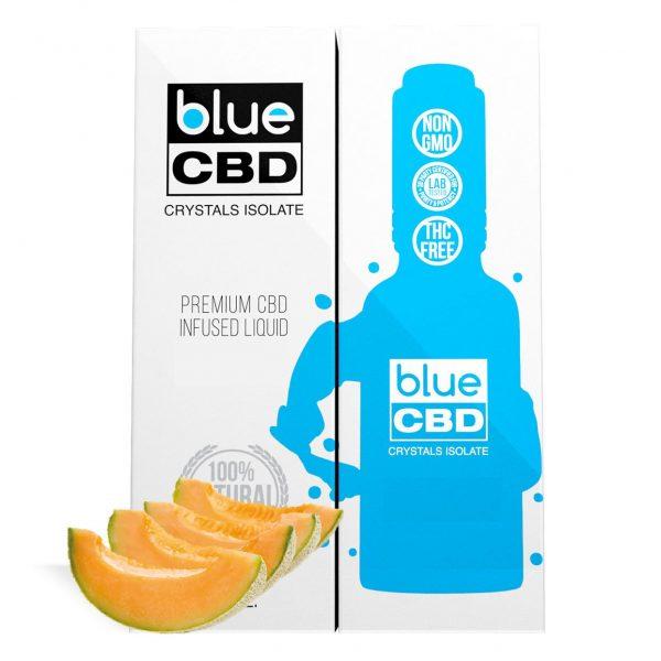 Cantaloupe Flavor Blue CBD Crystal Isolate - My CBD Mall