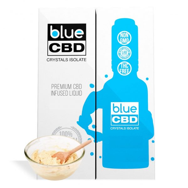 Cake Batter Flavor Blue CBD Crystal Isolate - My CBD Mall