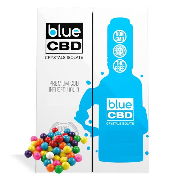 Bubblegum Flavor Blue CBD Crystal Isolate - My CBD Mall