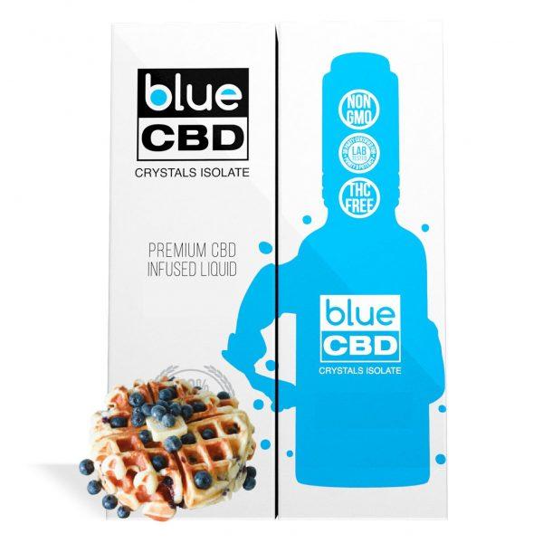 Blueberry Waffle Flavor Blue CBD Crystal Isolate - My CBD Mall