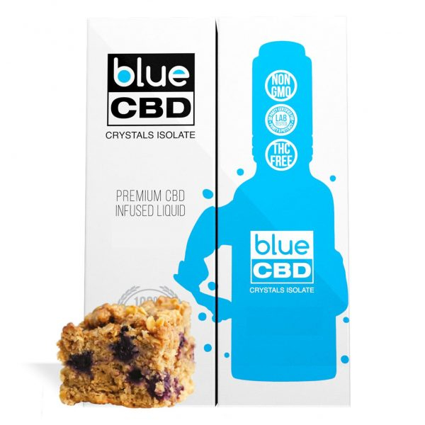 Blueberry Cinnamon Crumble Flavor Blue CBD Crystal Isolate - My CBD Mall