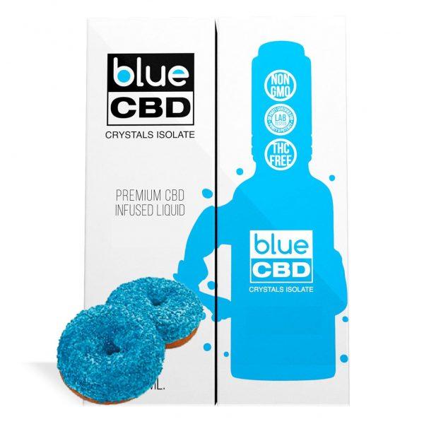 Blue Donut Flavor Blue CBD Crystal Isolate - My CBD Mall