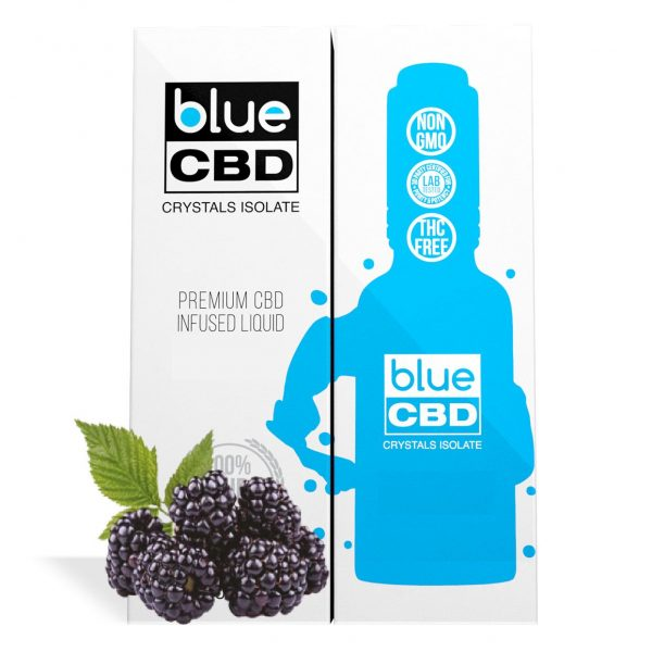 Blackberry Flavor Blue CBD Crystal Isolate - My CBD Mall