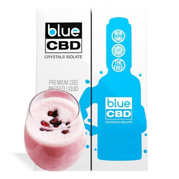 Black Pomegranate Yogurt Flavor Blue CBD Crystal Isolate - My CBD Mall