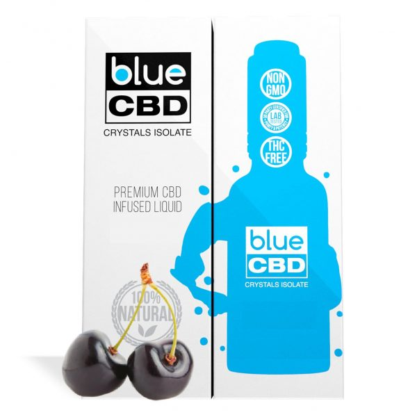 Black Cherry Flavor Blue CBD Crystal Isolate - My CBD Mall