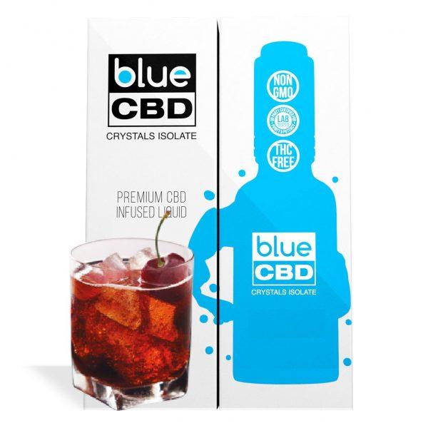 Black Cherry Cola Flavor Blue CBD Crystal Isolate - My CBD Mall