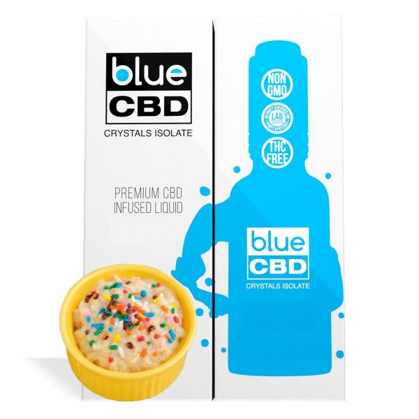 Birthday Cake Flavor Blue CBD Crystal Isolate - My CBD Mall