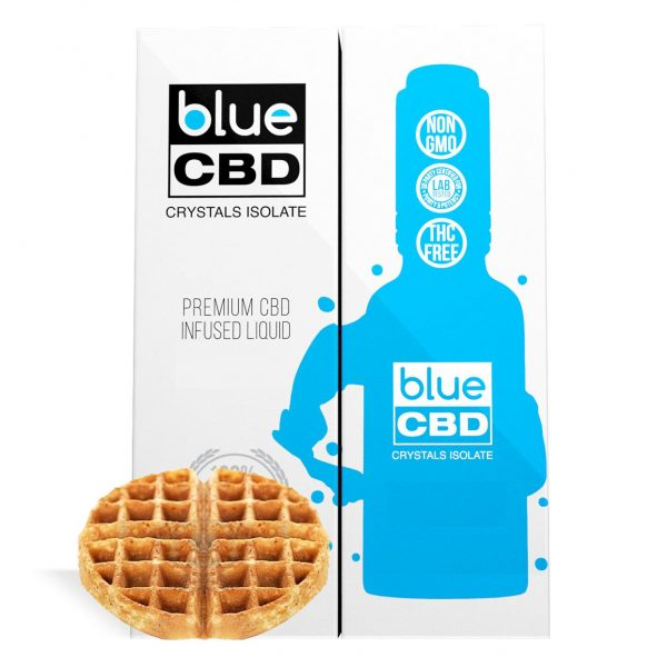 Belgian Waffle Flavor Blue CBD Crystal Isolate - My CBD Mall